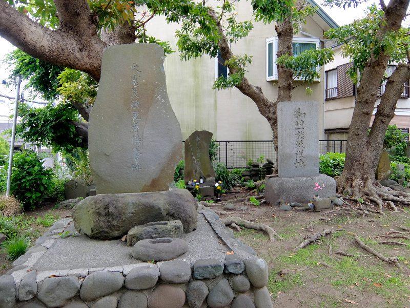 大震災死者供養碑
