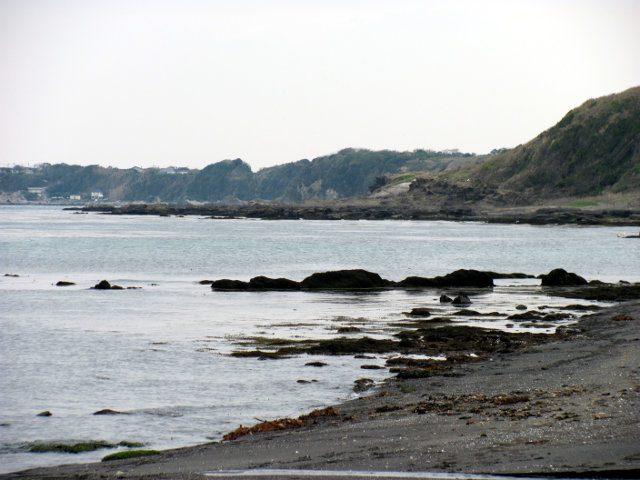 三戸海岸から黒崎の鼻