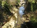 滑川の風景